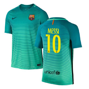 Nike Youth  Barcelona  Lionel Messi #10 Jersey (Alternate 16/17)