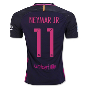 Nike Youth  Barcelona  Neymar #11 Jersey (Away Logo 16/17)