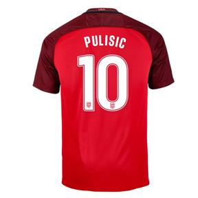Nike  USA  Christian Pulisic #10 Soccer Jersey (Alternate 2017/18)