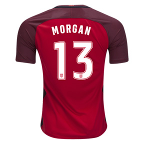 Nike Youth  USA  Alex Morgan #13 Jersey (Alternate 17/18)