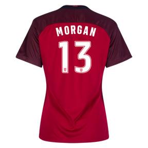 Nike Womens  USA  Alex Morgan #13 Jersey (Alternate 17/18)