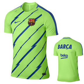 Nike  Barcelona  Dry Warm Up Jersey (2017)