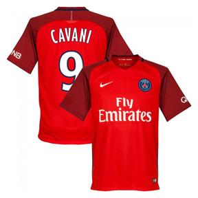 Nike  Paris Saint-Germain  Cavani #9 Soccer Jersey (Away 2016/17)