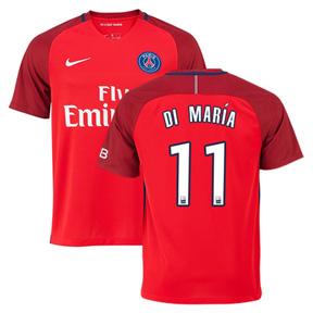 Nike  Paris Saint-Germain  Di Maria #11 Soccer Jersey (Away 2016/17)
