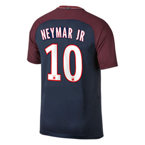 Nike   Paris Saint-Germain   Neymar #10 Soccer Jersey (Home 17/18)