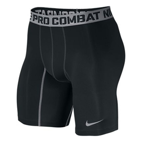 Nike Pro Combat Core 2.0 Compression Soccer Short (Black/Grey)