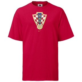 Nike Croatia Soccer Federation Tee (Red)