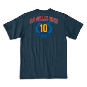 Nike Ronaldinho Barcelona USA Tour 2006 Soccer Tee