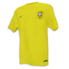 Nike Brasil / Brazil Federation Replica Soccer Tee