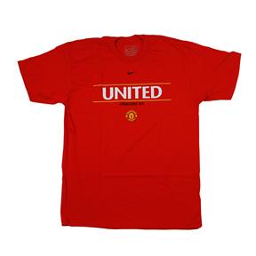 Nike Manchester United Cristiano Ronaldo Soccer Tee (Red)