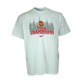 Nike Manchester United 2008 Champions League Soccer Tee