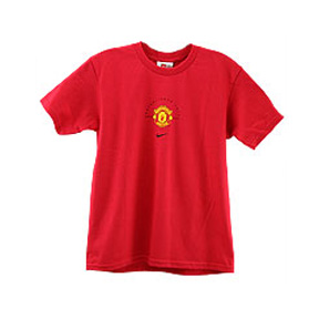 Nike Manchester United Wayne Rooney #8 Soccer Tee (Red)
