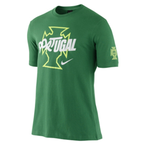 Nike Portugal Core World Cup 2010 Soccer Tee (Pine)