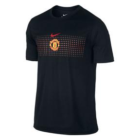 Nike Manchester United Soccer Legend Soccer Tee (Black)