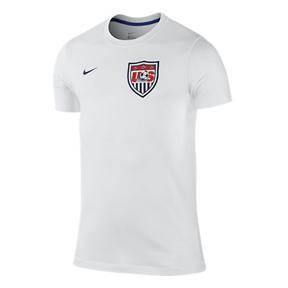 Nike USA World Cup 2014 Core Soccer Tee (White)