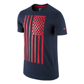 Nike USA World Cup 2014 Core Plus Soccer Tee (Obsidian)