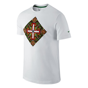 Nike Portugal World Cup 2014 Core Plus Soccer Tee