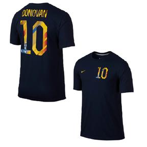 Nike USA Donovan #10 World Cup 2014 Soccer Tee (Navy)
