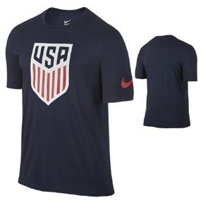 Nike  USA  Crest Soccer Tee (Obsidian 2016)
