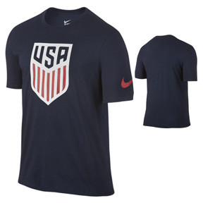 Nike Youth  USA Crest Soccer Tee (Obsidian 2016)