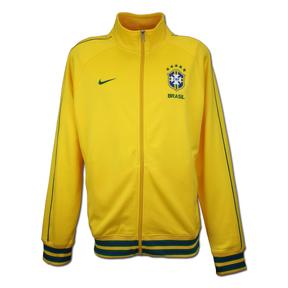 Nike Brasil / Brazil Core Trainer Soccer Track Top