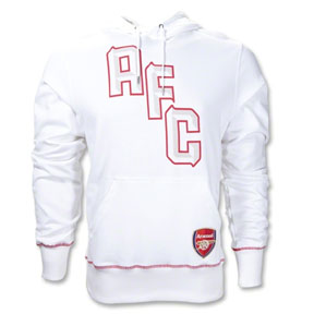 Nike Arsenal Core Soccer Hoody (White)
