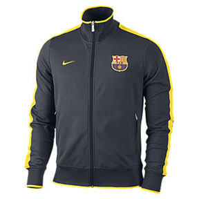 Nike  Barcelona Authentic N98 Soccer Track Top (City Grey)