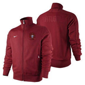 Nike Portugal Authentic N98 Soccer Track Top (Red)