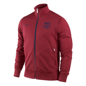 Nike Barcelona Authentic N98 Soccer Track Top (Storm Red)