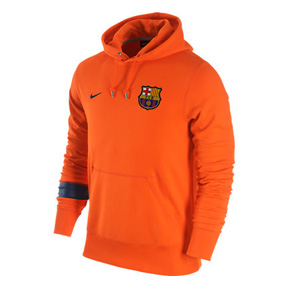 Nike Barcelona Core Soccer Hoody (Safety Orange)