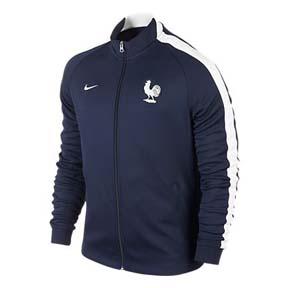 Nike France Authentic World Cup 2014 N98 Soccer Track Top