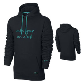 Nike  Barcelona  Core Soccer Hoody (Black 16/17)