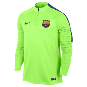 Nike  Barcelona  Drill Soccer Track Top (Green - 16/17)