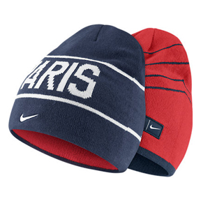 Nike Paris Saint-Germain Reversible Soccer Beanie Hat