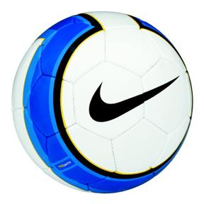 Nike Total 90 Spectra Soccer Ball (White/Blue)