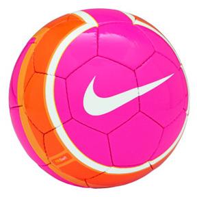 Nike T90 Swift Soccer Ball (Pink/White/Orange)