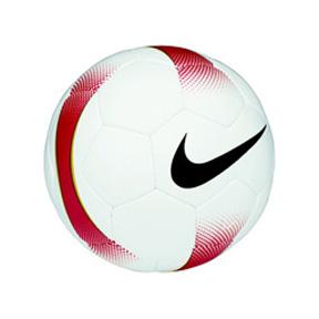 Nike Mercurial Veloci Soccer Ball (White/Red)