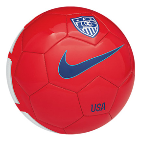 Nike USA Supporters Soccer Ball (Red - 2014)