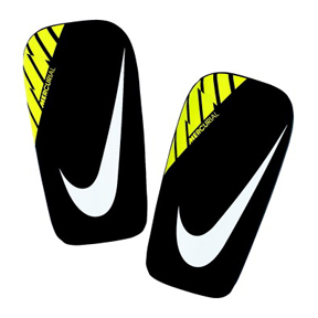 Nike Mercurial Lightspeed Soccer Shinguard (Black/Volt)
