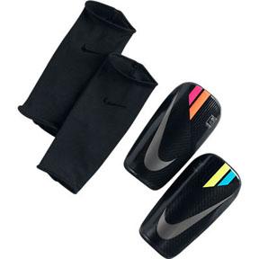 Nike Mercurial Lightspeed Soccer Shinguard (Black/Mango)