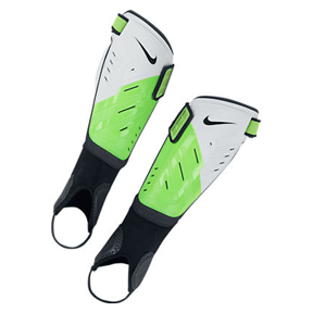 Nike Protegga Shield Soccer Shinguard (White/Green)