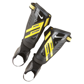 Nike Youth Protegga Shield Soccer Shinguard (Black/Yellow)