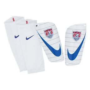 Nike Mercurial Lite USA Soccer Shinguard (White/Blue)