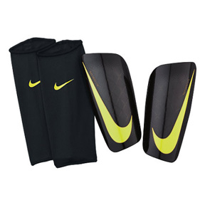 Nike Mercurial Lite Soccer Shinguard (Black/Volt)