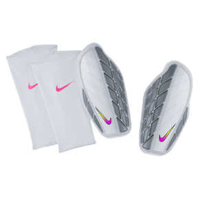 Nike Protegga Pro Soccer Shinguard (White/Multi)