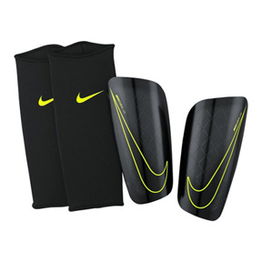 Nike Mercurial Lite Soccer Shinguard (Black/Black/Volt)