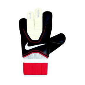Nike GK Vapor Grip3 Soccer Goalkeeper Glove (Black/Crimson)