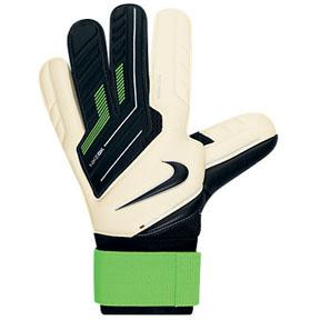 Nike GK Premier SGT Soccer Goalkeeper Glove (White/Green)