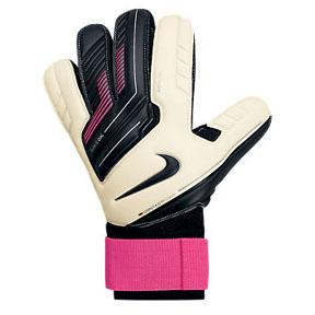 Nike GK Premier SGT Soccer Goalkeeper Glove (White/Pink)