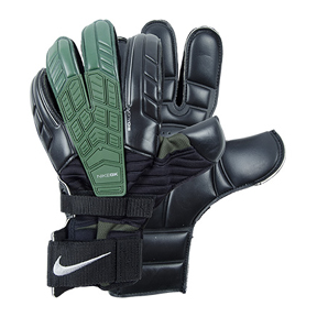 Nike  Confidence Soccer Goalkeeper Glove (Black/Dark Army)